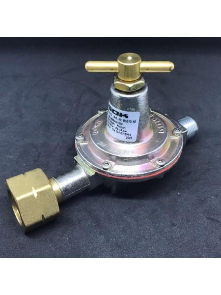 Регулятор середнього тиску газу 12 кг/год 0,5-4 бар Komb.A * G3/8LH-KN