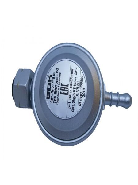 Газовий регулятор низького тиску GOK EN61 37 мбар 1,5 кг/год 9мм, СНД Shell