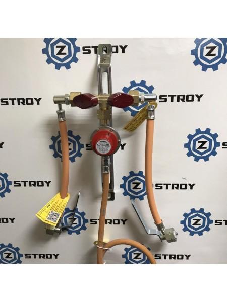 Рампа пропанова на 2 балона 4 кг/год 30-70 мбар (Робочий та резервний), комплект