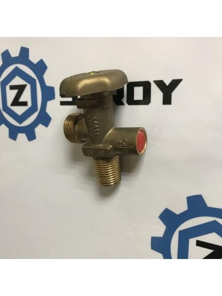 Вентиль газовий балонний з запобіжним клапаном 17Е ВБК-1 Shell W21,8 *1/14 LH
