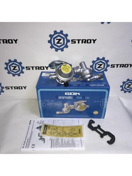 Двух камерний регулятор GOK AG M20*1,5 RVS 10/8 30 mbar 1,5 кг/год 7181323
