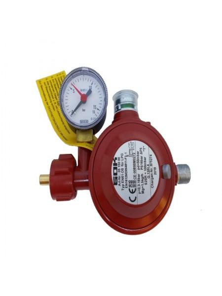 Газовий двухкамерний регулятор низького тиску GOK EN 61-DS 1.5 кг/год 50 мбар KLF