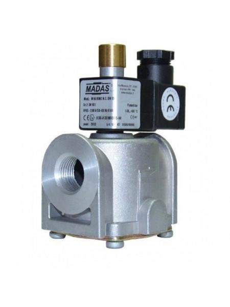 Клапан електромагн. М16/RMC N.A. DN20. P=500 mbar. 220 B