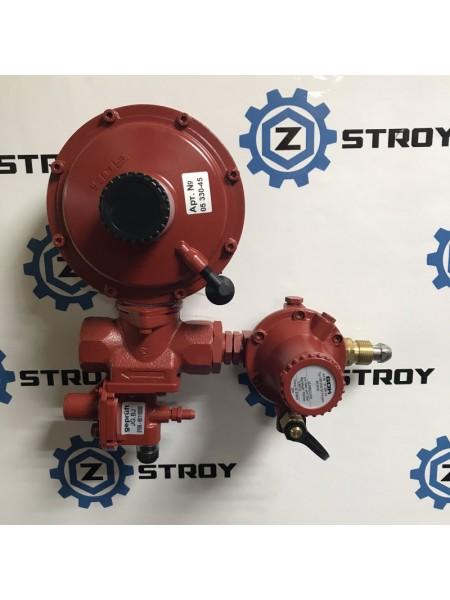 Регулятор комбінований эмності газу LPG з ПСК та ПЗК POL IG G1 50 мбар 60 кг/год №0125614