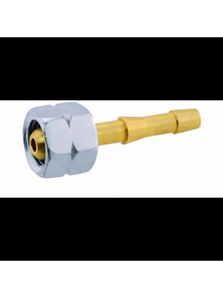 Конектор з накидною гайкою GOK G 1/4 LH 6.3mm