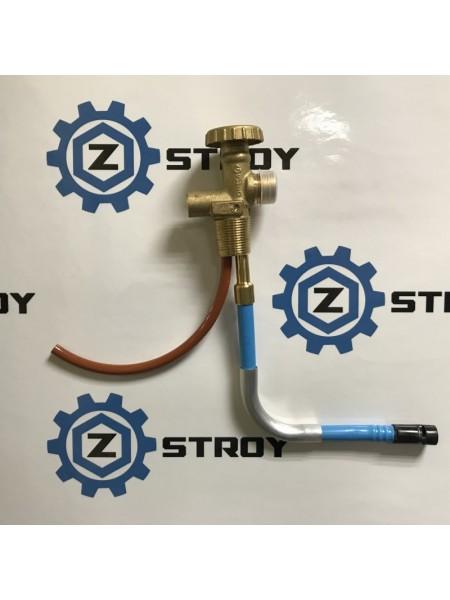 Вентиль газовий балонний для навантажувача 25Е Shell W21,8 *1/14 LH (погрущик)